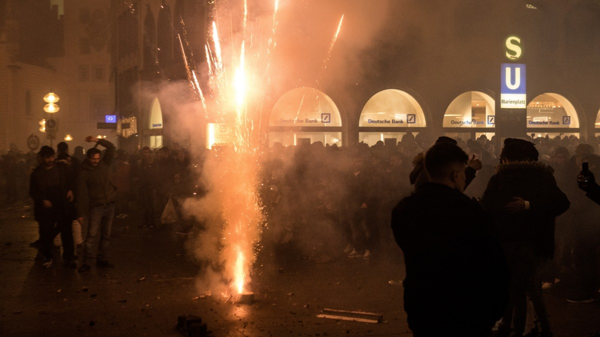 München bereitet Feuerwerksverbot in der Innenstadt vor