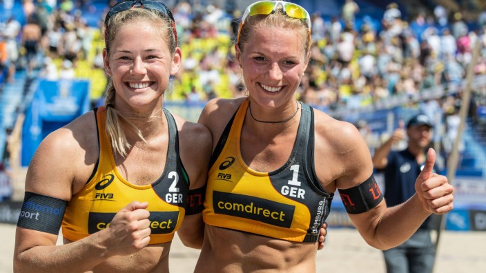 FIVB Beach volleyball Beachvolleyball World Championships Hamburg 2019 30 06 2019 Cinja Tillmann