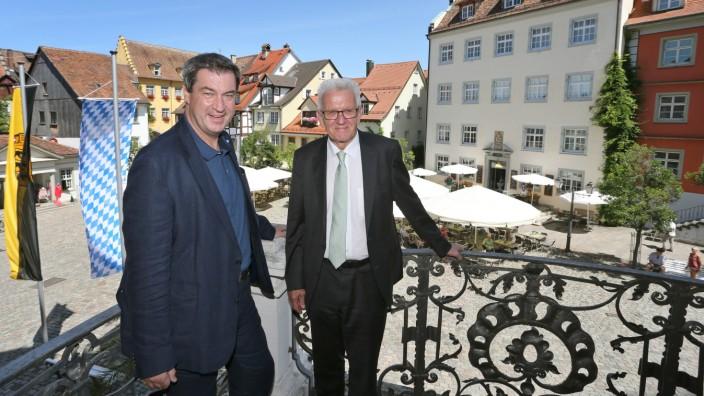 Gemeinsame Kabinettssitzung Bayern - Baden-Württemberg