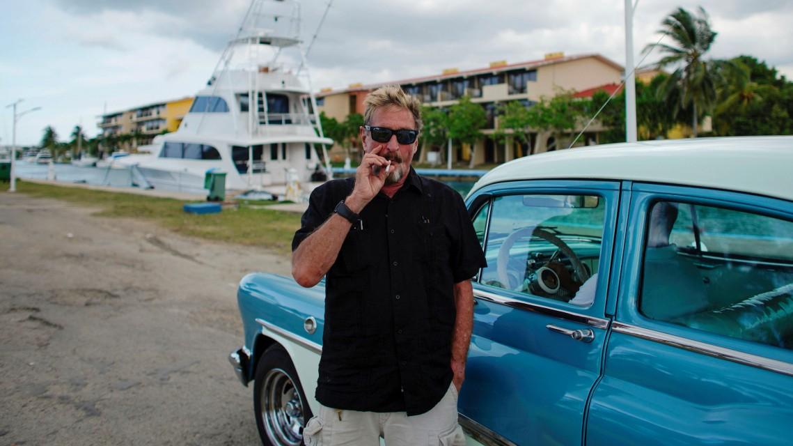 John McAfees Irrfahrt durch die Karibik