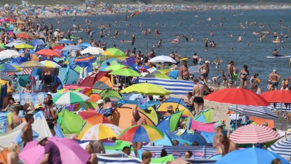 Sommerhitze - Zinnowitz auf Usedom