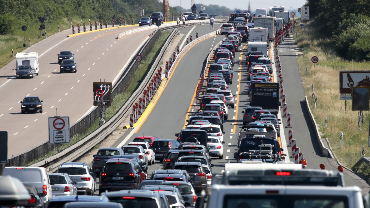 Von der Autobahn abfahren bringt nichts
