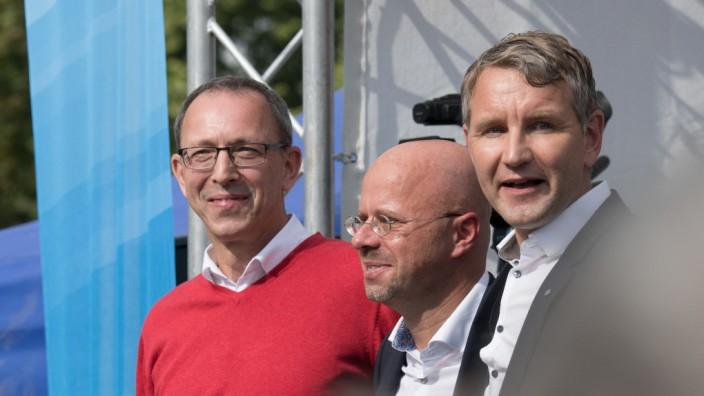 Urban, Kalbitz und Höcke: Wahlkampfauftakt der AfD Brandenburg vor Landtagswahl