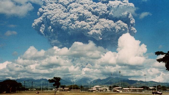 Folgenschwere Vulkanausbrüche - Pinatobu