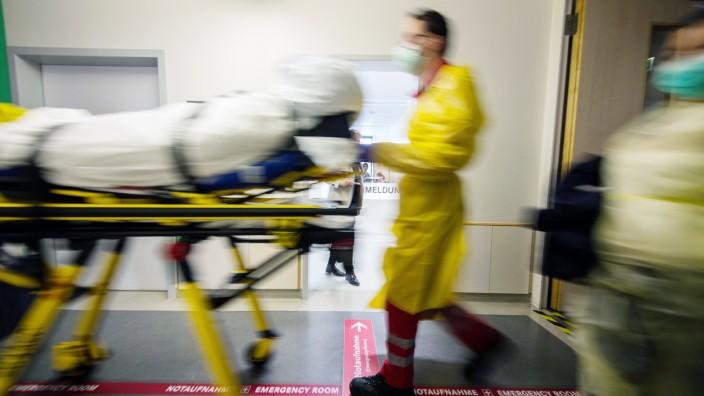 Notaufnahme am Uniklinikum Mainz