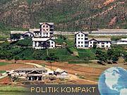 Nordkorea Südkorea Grenzstadt Kaesong