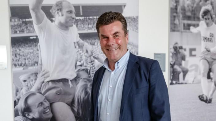 Hamburger SV - Trainer Dieter Hecking