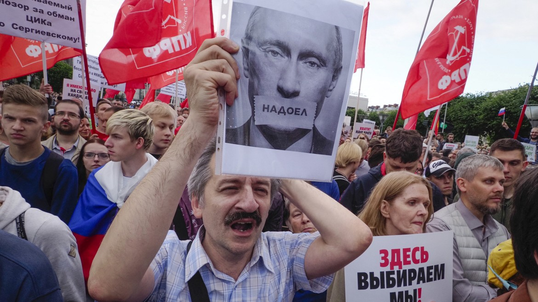 Putins verdeckter Krieg gegen den Westen  - cover