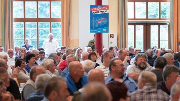 Wahlkampfauftakt AfD Sachsen