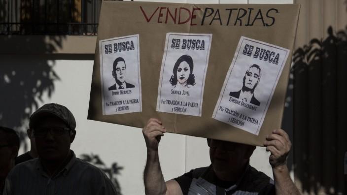 Proteste in Guatemala gegen Abkommen mit den USA