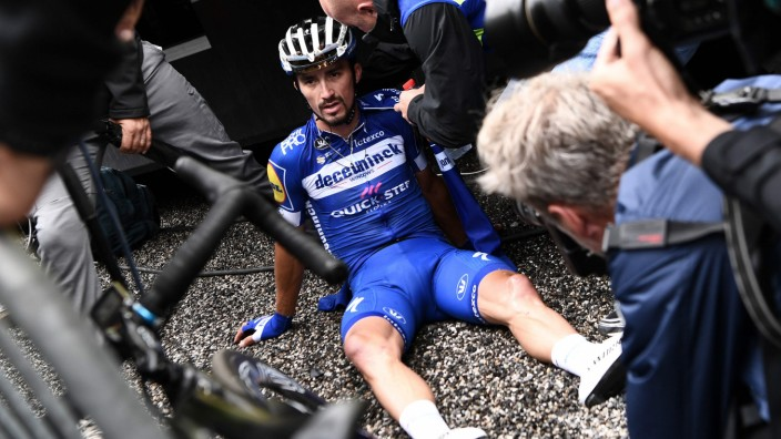 Tour de France 2019 - Julian Alaphilippe nach der vorletzten Etappe