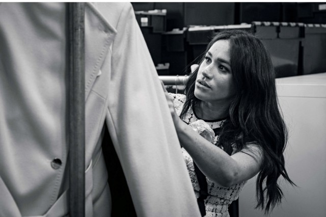 The Duchess of Sussex guest edits British Vogue