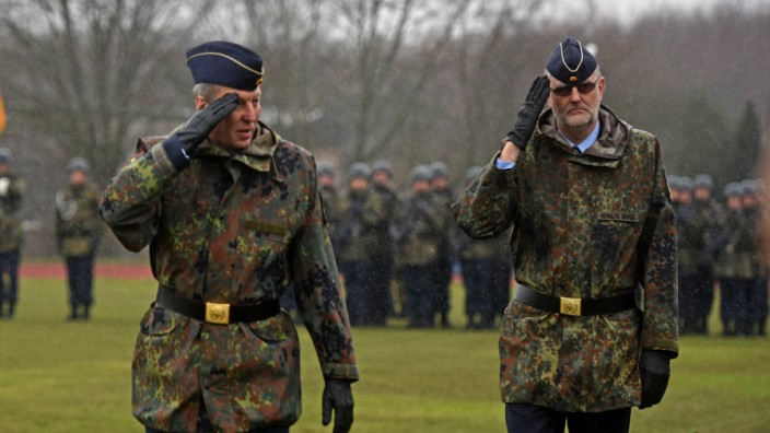 Bundeswehr-Offizier Joachim Wundrak