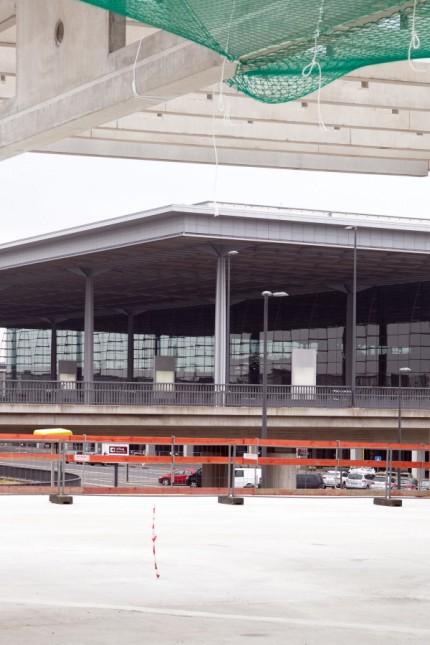Richtfest Terminal 2 am Flughafen Berlin Brandenburg