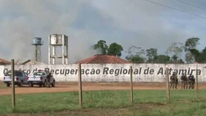 Brasilianisches Gefängnis in Altamira