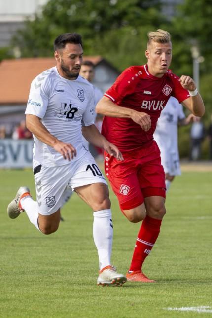 Deutschland Randersacker Trainingsgelände 09 07 2019 Fußball Testspiel FC Würzburger Kicker