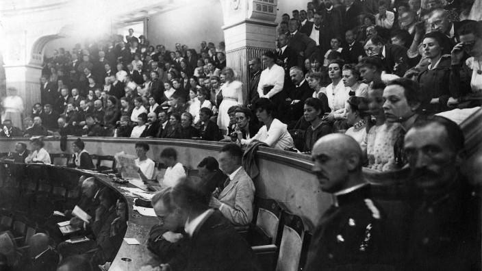 Nationalversammlung in Weimar, 1919