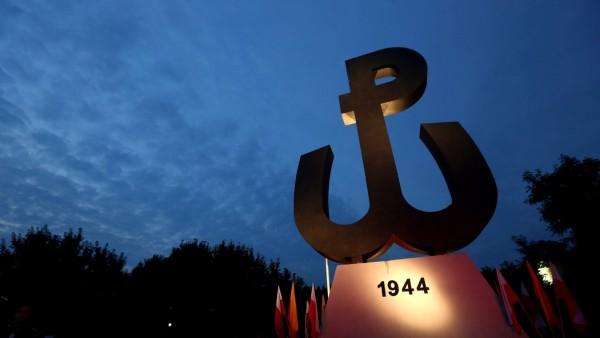 70th anniversary of Warsaw Uprising