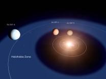Bewohnbare Planeten - Forscher entdecken 2019 ein Planetentrio