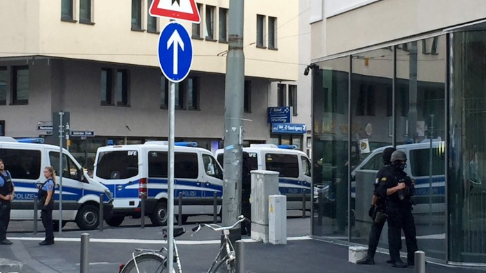 Polizeieinsatz am Frankfurter Hauptbahnhof
