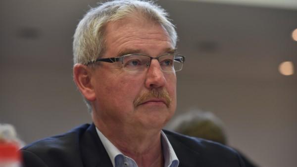 Alexander Reissl auf Parteitag der SPD München, 2017
