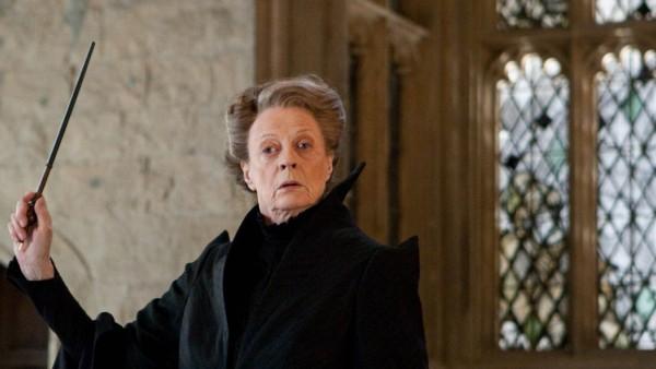 MAGGIE SMITH as Professor Minerva McGonagall in Warner Bros Pictures' fantasy adventure HARRY POTTE