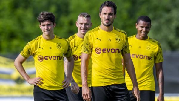 Fußball: Trainingslager Borussia Dortmund
