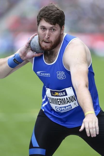 German Athletics Championships Berlin 03 08 2019 Christian Zimmermann Kirchheimer SC