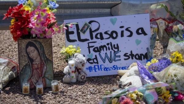Traueraltar für Tote in El Paso