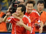 China - Deutschland 1:1