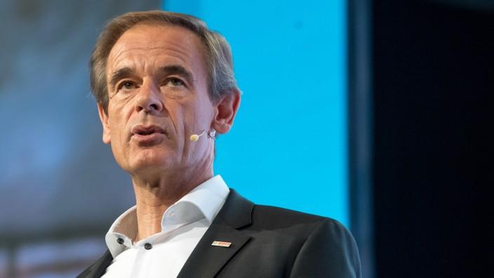 Volkmar Denner bei der Bosch Bilanzpressekonferenz