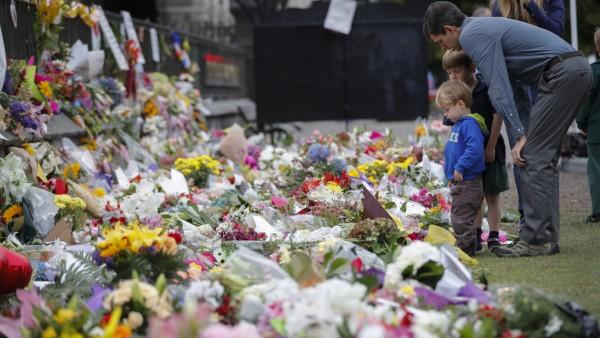 Blumen für Opfer von El Paso Massaker