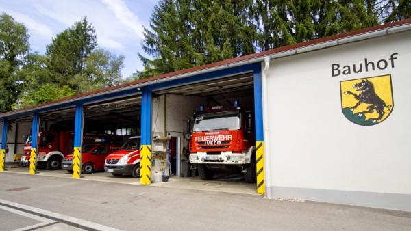 Feuerwehr EBE im Bauhof untergeschlupft