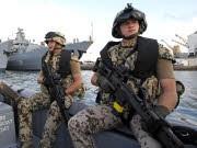 Piraterie; Bundeswehr-Soldaten, ddp