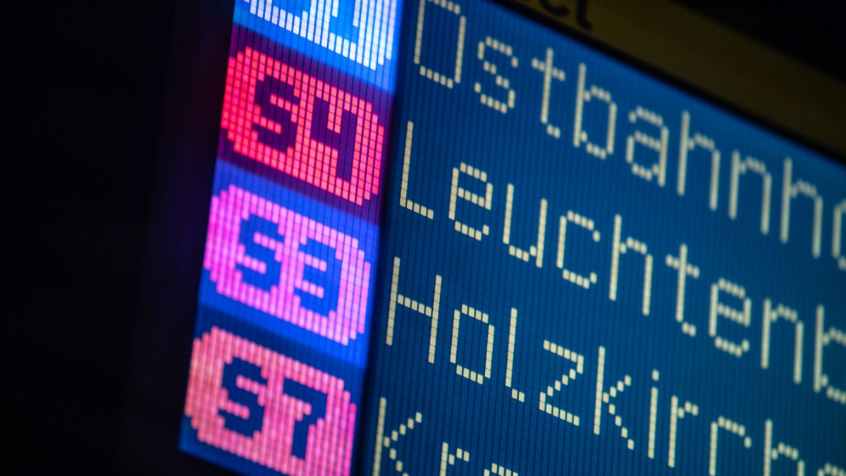 Ostbahnhof: Stellwerkstörung legt S-Bahn lahm