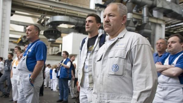 Betirebsversammlung VW