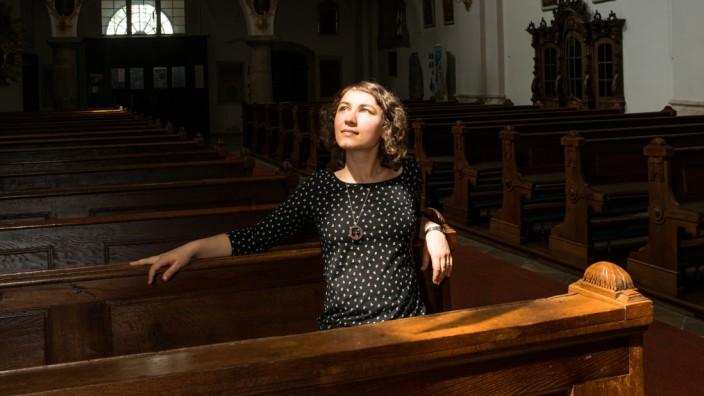 Daniela Schneider, Regensburg St. Andreas Kirche, 2019