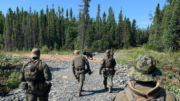 Royal Canadian Mounted Police continue their search for Kam McLeod and Bryer Schmegelsky near Gillam