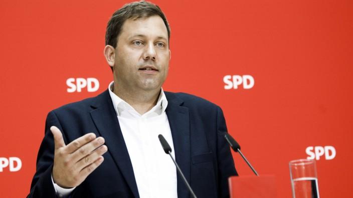 Pressekonferenz der SPD nach Gremiensitzungen