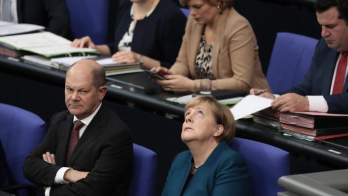 Bundestag - Regierungserklärung