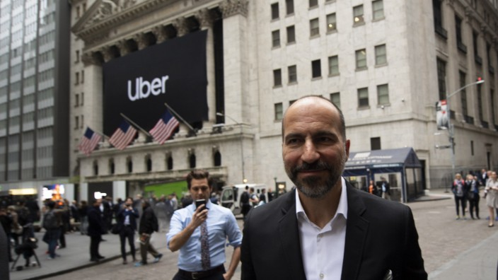 Uber makes debut on stock market