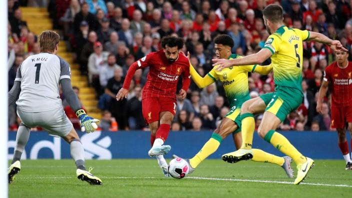 Premier League - Liverpool v Norwich City