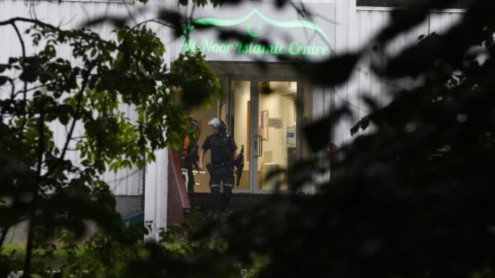 Ein Verletzter bei Schüssen in Moschee bei Oslo
