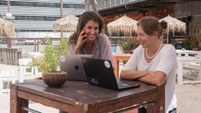 Gründerinnen Cecilia Chiolerio und Dorothea Haider