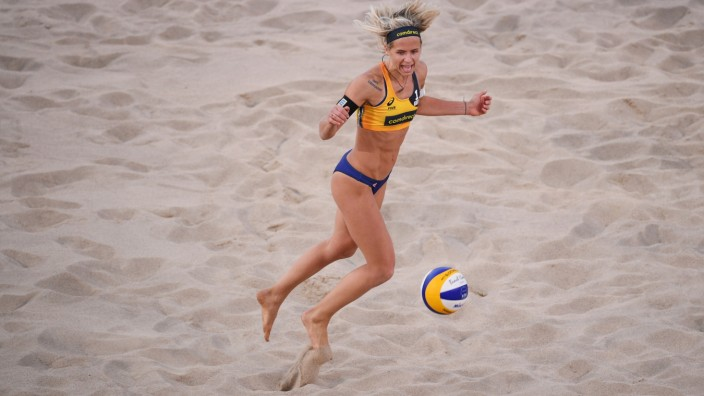 FIVB Beach Volleyball World Championships Hamburg 2019 - Day 3; Laura Ludwig