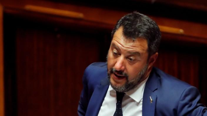 Lega-Chef und Vize-Premierminister Matteo Salvini