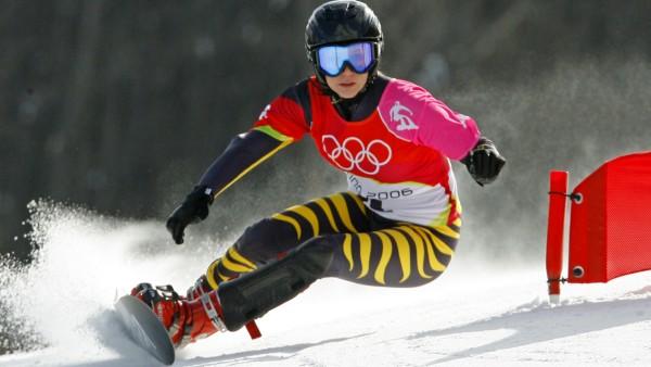 Olympia Turin - Snowboard Riesenslalom - Amelie Kober