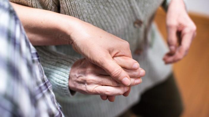 Pflege Alter