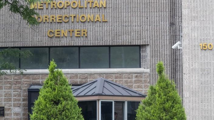 Epstein Gefängnis New York