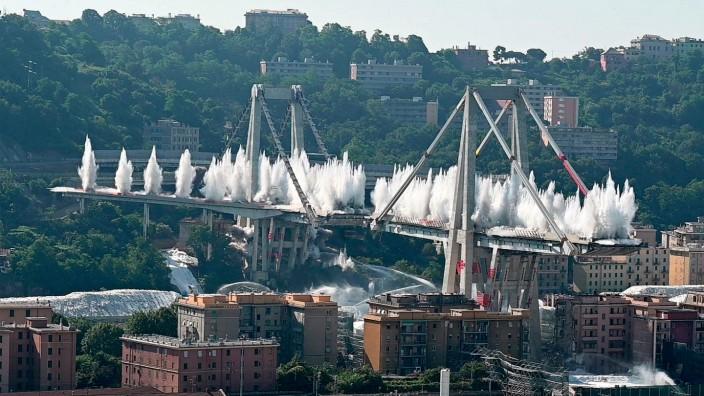 Ein Jahr nach dem verheerenden Brückeneinsturz von Genua
